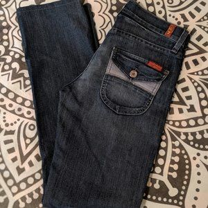 ☘️7 For All Mankind / Straight Leg Jeans ☘️